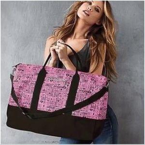 NWT Victoria's Secret duffel bag